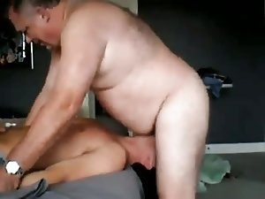 young sub deepthroats big dom daddy again
