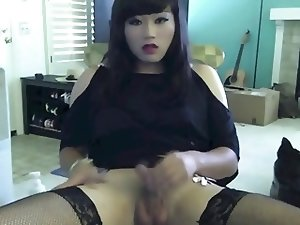 Horny CD Girl