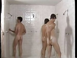 Vintage BB -  Prison Shower Three some