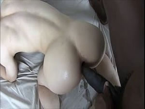 Black gay with big cock fucks Asian boy