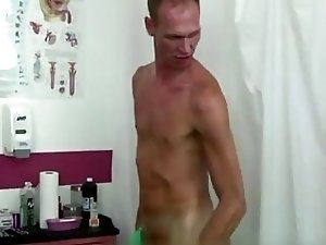 Hot gay sex I loved feeling my body and jerking my big rock hard cock.