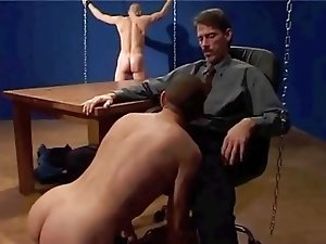 Sadistic boss conducts job interviews