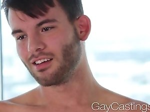 HD - GayCastings Deacon's son first porn