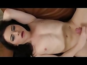 Femboy in girl make up
