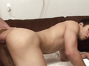 Twink gets fucked by douche-bag with big dick