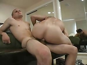 Str8 military dude fucks bareback