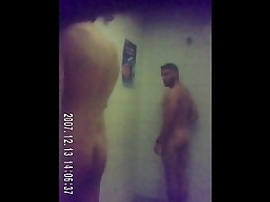 guy gets horny watching me in the shower