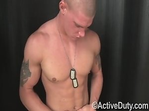 Muscled gay strip naked
